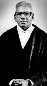 V.R. Krishna Iyer early in his judicial career.