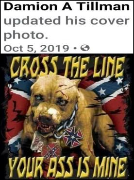 Keven Springfield Facebook pit bull meme