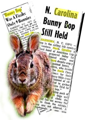 """The """"bunny bop"""" organizers were defiant in 1963, but quit the killing contest after the 1967 debacle."""