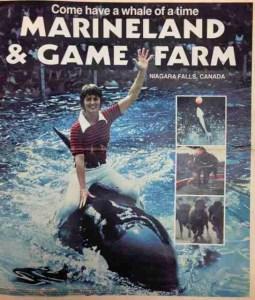 Marineland of Canada ad circa 1979.
