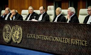 International Court of Justice,  (NBC.com photo)