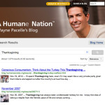 Ignoring Thanksgiving massacre,  HSUS president Wayne Pacelle denounces animal sacrifice in Nepal