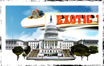 Joe Exotic flys over Congress