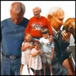 Rick Collord and Grandchildren