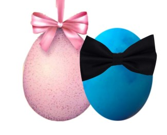 Pink & blue eggs