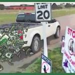 "Driving at demonstrators costs ""Big Lick"" champ's insurers $50,000"