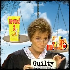 Judge Judy and scale of justice