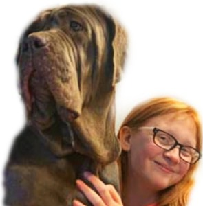 neopolitan mastiff and Skylar Hedrick