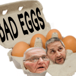 Bad eggs Jack & Peter DeCoster ordered to prison after 2-year delay