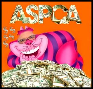 Matt Bershadker as Cheshire Cat on money