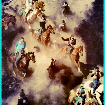 What does the Omak Suicide Race owe to a horse massacre & the KKK?