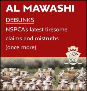 Part of the ongoing Al Mawashi South Africa response to the NSPCA lawsuit.