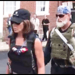 What was No Kill Nation founder Debi Day doing in Charlottesville?