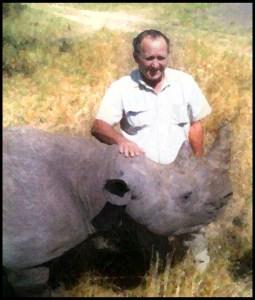Johnny Rodrigues & Tatenda rhino