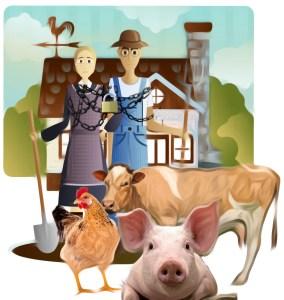 Farmers & animals