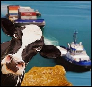 Cow & ship