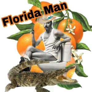 Florida man collage by Beth Clifton