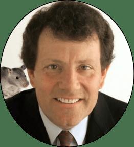 Nicholas J. Kristof & friend.