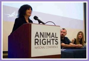 Karen Davis speaking at AR 2015 conference. (UPC photo)
