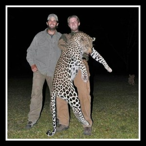 Eric & Donald Trump Jr. killed this leopard.