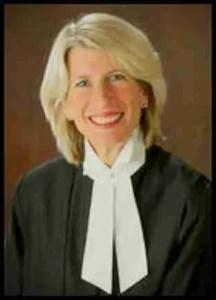 Quebec Court of Appeals Judge Manon Savard.