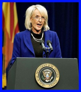 Jan Brewer. (Facebook photo)