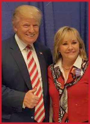 Donald Trump & Mary Fallin. (Facebook photo)