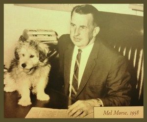Mel Morse in 1958. (Marin County Humane Society photo)