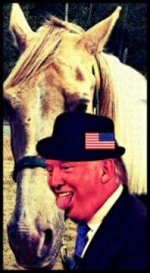 Trump & horse