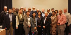 ProMED staff at the International Meeting on Emerging Diseases and Surveillance, 2013.