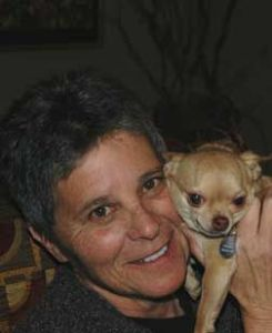 Quita Mazzina & friend.  (Humane Alliance photo)