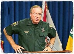 Sheriff Grady Judd holds a press conference