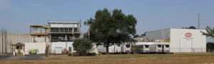 Tyson chicken slaughterhouse in Carthage, Texas. (ALDF photo)