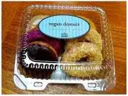 Vegan doughnuts, favorite snack of the vegan police.