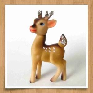 Wood frame reindeer