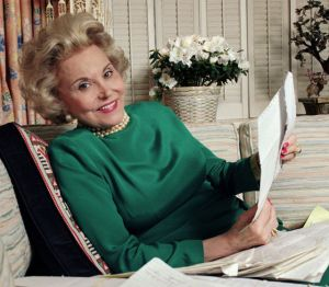 "Effie Lederer,  author of the ""Ann Landers"" column from 1955 to 2002,  circa 1987."
