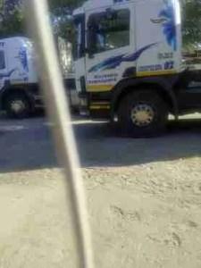 Assembled trucks. (ZCTF photo)