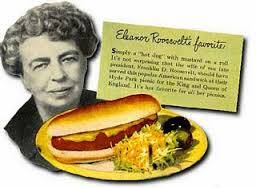 In Eleanor Roosevelt's time the risks from asbestos, tobacco, red meat, and processed meat products were barely suspected.