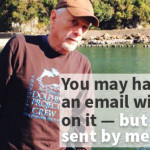 """Ric O'Barry:  """"You may have received an e-mail with my name on it,  but it was not sent by me"""""""