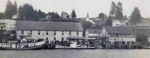 Cathlamet circa 1907.
