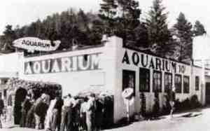 The Depoe Bay Aquarium circa 1934.