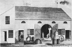 The Cumberland Glass Works.