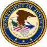 Seal of Dept. of Justice