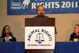 Farm Animal Rights Movement founder Alex Hershaft (FARM photo)