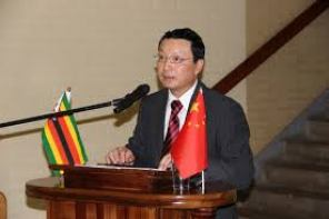 Lin Lin, Chinese ambassador to Zimbabwe.