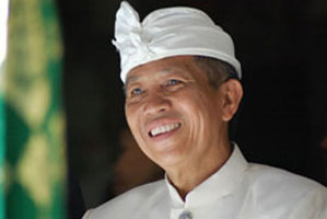 Bali governor Made Mangku Pastika.