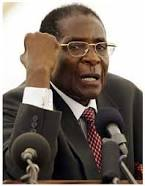 Robert Mugabe, president of Zimbabwe since 1980. (Wikipedia)