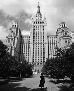 Tolkachev's apartment building (Courtesy of David E. Hoffman)