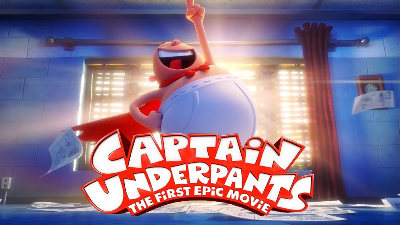 Captain Underpants The First Epic Movie English Hindi 480p Animation Hindi Dubbed