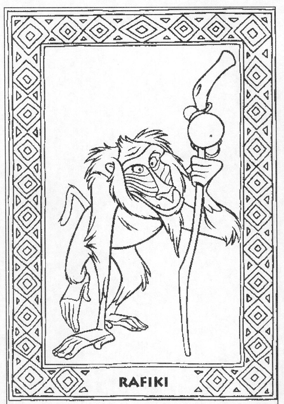 Coloring Pages The Lion King: Animated Images, Gifs